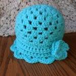 The Ruffle Shell Hat (size..