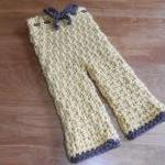 Crocheted Infant Pants - S..