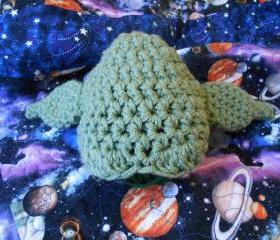 Star Wars Jedi Yoda Infant/Toddler Hat or American Girl-type doll hat (size 0-3 months, 3-6 months, 6-12 months, or 1-3 years)